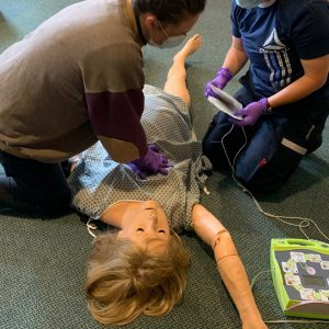 Hands-On Skills:  In-Person Practice and Testing; American Heart Association